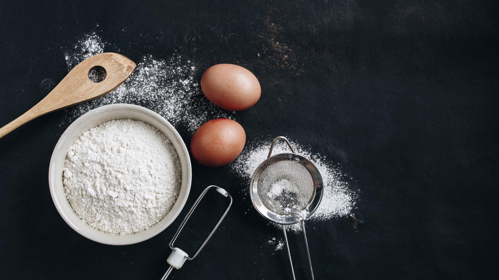 Image of baking ingredients